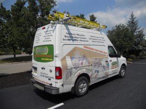 Cranston Service Van