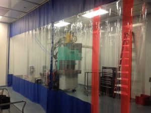 Industrial Curtain Partitions