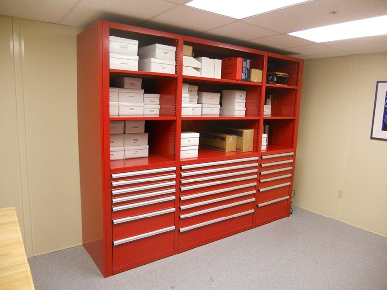 Modular Drawers for Storing Small Parts