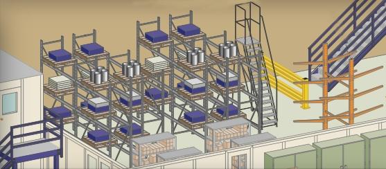 Warehouse Pallet Rack Shelving