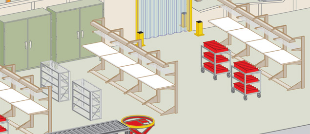Industrial Heavy Duty Workbenches and Workstations