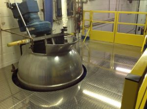 Mixing Tank Maintenance Platform