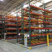pallet rack installation