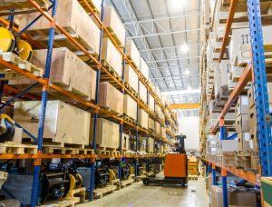 material handling industry, pallet racking