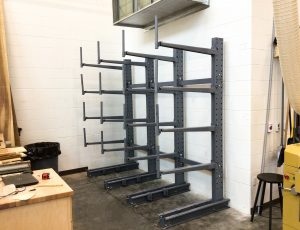 Meco Cantilever Rack installation