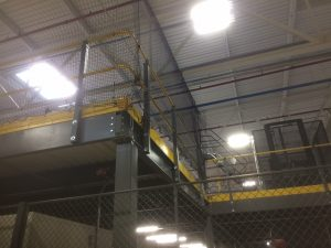 Mezzanine Safety Netting 1