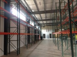 Racking in New Warehouse