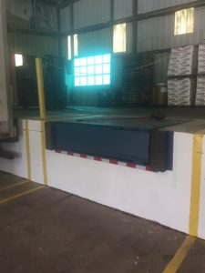 Loading Dock with Bumper