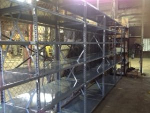 Industrial Stock Room Shelving