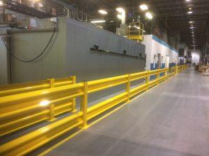 Aisleway Guard Rails
