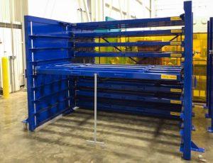 Sheet Metal Storage Rack